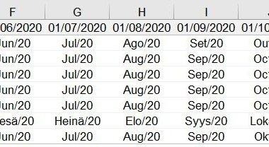 Conversão de Idioma – MultiPaís no MS Excel